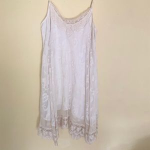 Lace Anthropologie dress